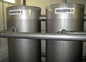 NWF-suodatin vedensuodatus NWF-filter water filtration